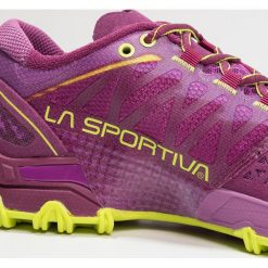 La Sportiva BUSHIDO WOMAN Obuwie do biegania Szlak plum/apple green - 2