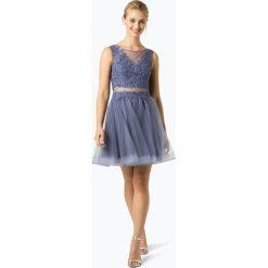 Laona - Damska sukienka wieczorowa, lila. Szare sukienki balowe marki Laona, m, z koronki. Za 799,95 zł.