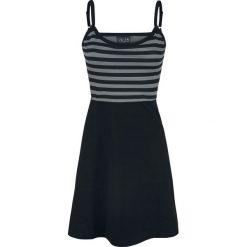 Pussy Deluxe Pretty Stripes Dress Sukienka czarny/szary. Czarne sukienki na komunię marki Mohito, l, z dekoltem na plecach. Za 99,90 zł.