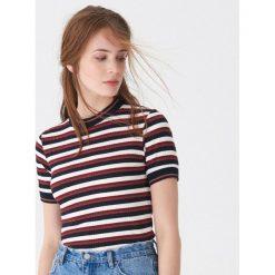 Koszulka w paski - Paski. Szare t-shirty damskie House, l, w paski. Za 59,99 zł.