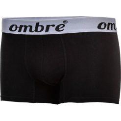 BOKSERKI MĘSKIE U06 - CZARNE 3-PAK. Czarne bokserki męskie marki Ombre Clothing, m, w kropki. Za 29,00 zł.