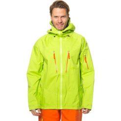 """Kurtki męskie bomber: Kurtka narciarska """"Pro Mt Rainier"""" w kolorze limonkowym"""