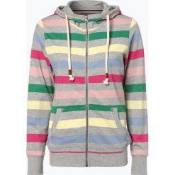 Bluzy damskie: Marie Lund - Damska bluza rozpinana, szary