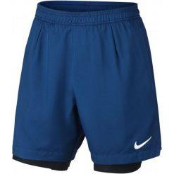 Nike Spodenki Tenisowe M Nkct Dry Short Baseline Rib L. Niebieskie spodenki sportowe męskie Nike, m, tenisowe. W wyprzedaży za 167,00 zł.