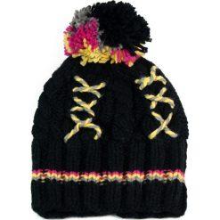 Czapka damska i zimowe wzory czarna (cz2605). Czarne czapki zimowe damskie Art of Polo, na zimę. Za 37,60 zł.