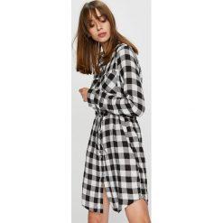 Haily's - Sukienka Wanda. Szare długie sukienki Haily's, na co dzień, l, z tkaniny, casualowe, z długim rękawem, rozkloszowane. Za 119,90 zł.
