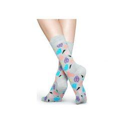 Skarpetki Happy Socks  DIA01-9001. Czerwone skarpetki męskie Happy Socks, z bawełny. Za 24,43 zł.