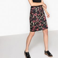 Spódniczki: Spódnica ołówkowa w kwiatki