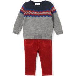 Spodnie niemowlęce: Komplet 2-częściowy: sweterek i spodnie 1 miesiąc – 3 lata