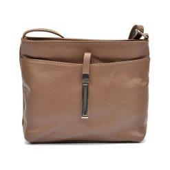 Torebka w kolorze brązowym - (S)22 x (W)18 x (G)5 cm. Brązowe torebki klasyczne damskie Bestsellers bags, w paski, z materiału. W wyprzedaży za 159,95 zł.