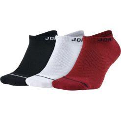 Skarpety Jordan Jumpman No-Show 3PPK (SX5546-011). Białe skarpetki męskie marki Jordan, z materiału. Za 59,99 zł.