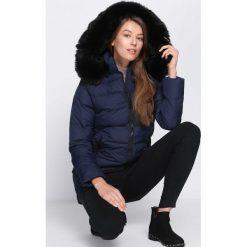 Granatowa Kurtka Equal Footing. Brązowe kurtki damskie pikowane marki QUECHUA, na zimę, m, z materiału. Za 144,99 zł.