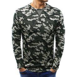 Swetry klasyczne męskie: Sweter męski woodland camo (wx0993)