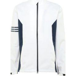 Adidas Golf CLIMAPROOF JACKET Kurtka Softshell white. Białe kurtki sportowe męskie adidas Golf, m, z materiału, na golfa, climaproof (adidas). Za 779,00 zł.