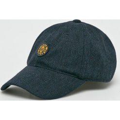 Pepe Jeans - Czapka. Szare czapki z daszkiem męskie Pepe Jeans, z bawełny. Za 99,90 zł.