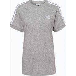 Adidas Originals - T-shirt damski, szary. Szare t-shirty damskie marki adidas Originals, z gumy. Za 129,95 zł.
