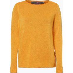 Lieblingsstück - Sweter damski z dodatkiem kaszmiru – Halina, żółty. Żółte swetry klasyczne damskie Lieblingsstück, z kaszmiru. Za 429,95 zł.