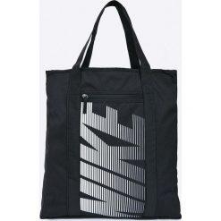 Nike - Torebka. Czarne torebki klasyczne damskie Nike, z materiału, duże. Za 139,90 zł.