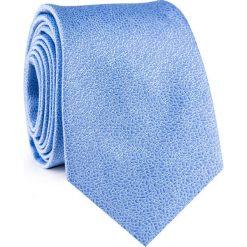KRAWAT KWNR001915. Niebieskie krawaty męskie Giacomo Conti, z mikrofibry. Za 69,00 zł.