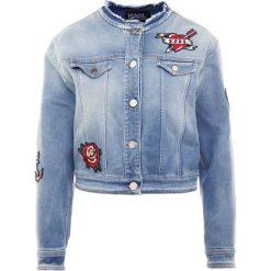 Bomberki damskie: KARL LAGERFELD CAPTAIN PATCH Kurtka jeansowa summer blue