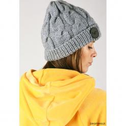 HugMe czapka. Żółte czapki zimowe damskie Pakamera. Za 80,00 zł.