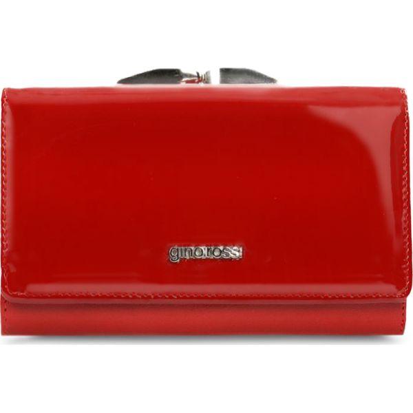 2658d066d0e93 Portfel damski - Czerwone portfele damskie marki Gino Rossi