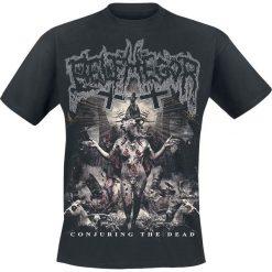 Belphegor Conjuring T-Shirt czarny. Czarne t-shirty męskie z nadrukiem Belphegor, m, z dekoltem na plecach. Za 74,90 zł.