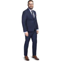 Garnitur LEONARDO GAGS000056. Brązowe garnitury Giacomo Conti, w kolorowe wzory. Za 599,00 zł.