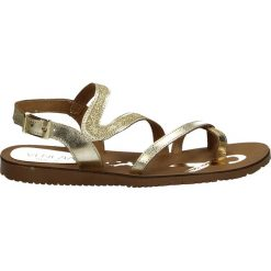 Sandały damskie: Sandały - 2575 L-G PLAT
