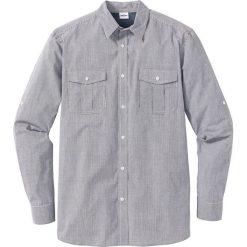 Koszula w kratę Regular Fit bonprix biało-czarny. Białe koszule męskie marki Reserved, l. Za 49,99 zł.