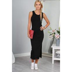 Sukienka Czarna 9981. Czarne sukienki marki Fasardi, m, z dresówki. Za 59,00 zł.