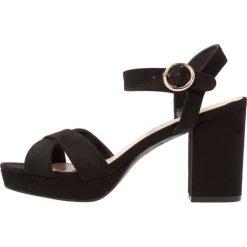 Sandały damskie: New Look PUZZLE Sandały na obcasie black