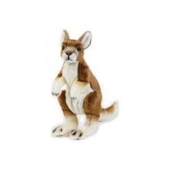 Maskotka DANTE National Geographic Kangur. Szare przytulanki i maskotki DANTE, z materiału. Za 74,90 zł.