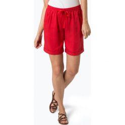 Bermudy damskie: Marc O'Polo - Spodenki damskie, czerwony