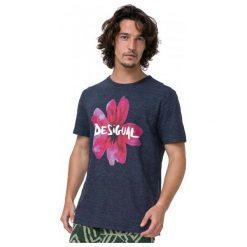 Desigual T-Shirt Męski Georgia S Niebieski. Niebieskie t-shirty męskie marki Desigual, m. W wyprzedaży za 132,00 zł.