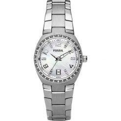 Fossil - Zegarek AM4141. Różowe zegarki damskie marki Fossil, szklane. Za 379,90 zł.