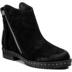 Botki LASOCKI - A230 Czarny. Czarne buty zimowe damskie marki Lasocki, ze skóry. W wyprzedaży za 125,00 zł.