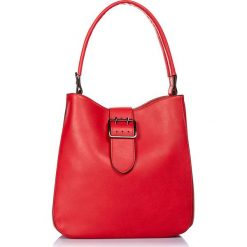 """Torebki klasyczne damskie: Torebka """"Preston"""" w kolorze czerwonym – 29 x 25 x 12 cm"""