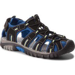 Buty dziecięce: Sandały WALKY – BP69-6043 Czarny