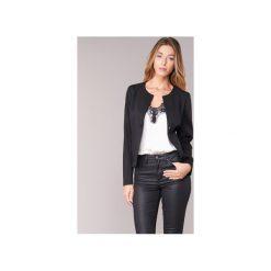 Żakiety / Blezery Armani jeans  FRABERGA. Czarne marynarki i żakiety damskie marki Armani Jeans, z jeansu. Za 1111,20 zł.