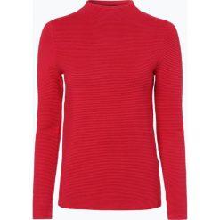 Marie Lund - Sweter damski, czerwony. Niebieskie swetry klasyczne damskie marki ARTENGO, z elastanu, ze stójką. Za 169,95 zł.