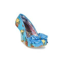 Czółenka Irregular Choice  ASCOT. Niebieskie buty ślubne damskie Irregular Choice. Za 328,30 zł.