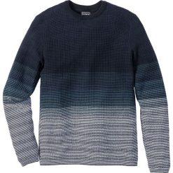Swetry męskie: Sweter Slim Fit bonprix niebieski