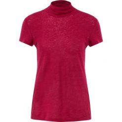 Iro WAKE Tshirt z nadrukiem fushia. Czerwone t-shirty damskie Iro, xs, z nadrukiem, ze lnu. Za 439,00 zł.