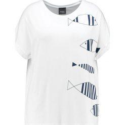 T-shirty damskie: Persona by Marina Rinaldi VALIGIA Tshirt z nadrukiem white