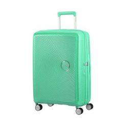 Walizka podróżna SOUNDBOX 67/24 TSA EXP miętowa (32G-34-002). Zielone walizki marki American Tourister. Za 386,79 zł.
