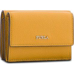 Mały Portfel Damski FURLA - Babylon 978899 P PZ12 OAS Ginestra e. Żółte portfele damskie Furla, ze skóry. W wyprzedaży za 299,00 zł.