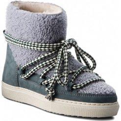 Buty INUIKII - Sneaker Curly 70202-16 Grey. Szare buty zimowe damskie Inuikii, z materiału. Za 1349,00 zł.