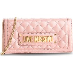 Torebka LOVE MOSCHINO - JC5613PP17LA0600 Rosa. Czerwone torebki klasyczne damskie Love Moschino, ze skóry ekologicznej. Za 569,00 zł.