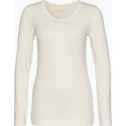 Marie Lund - Damska koszulka z długim rękawem, beżowy. Brązowe t-shirty damskie Marie Lund, m, z bawełny. Za 69,95 zł.